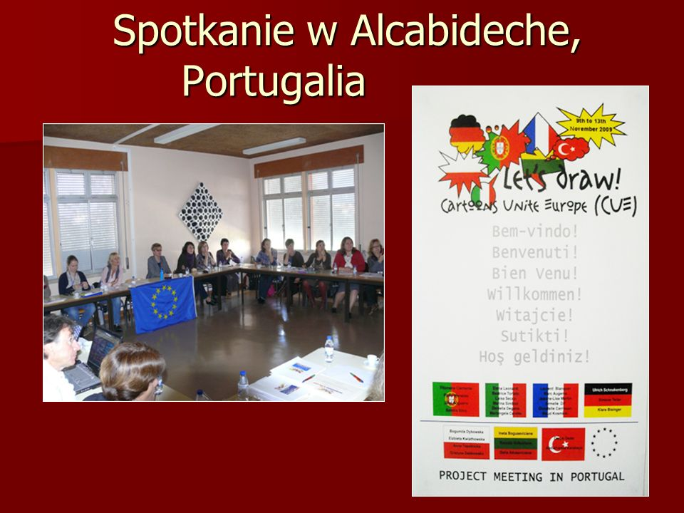 Spotkanie w Alcabideche, Portugalia