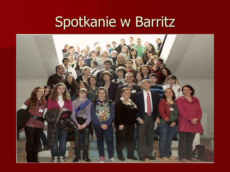 Spotkanie w Barritz
