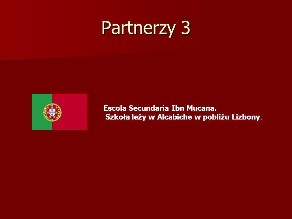 Partnerzy 3 Escola Secundaria Ibn Mucana. Szkoła leży w Alcabiche w pobliżu Lizbony.