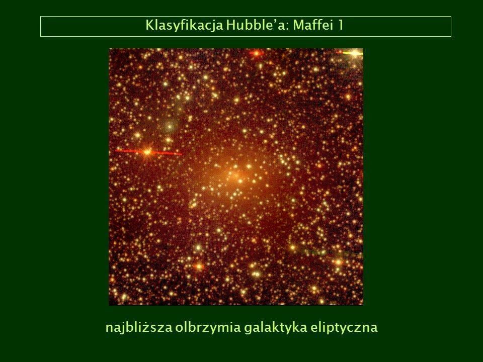 Klasyfikacja Hubblea: Maffei 1 najbliższa olbrzymia galaktyka eliptyczna