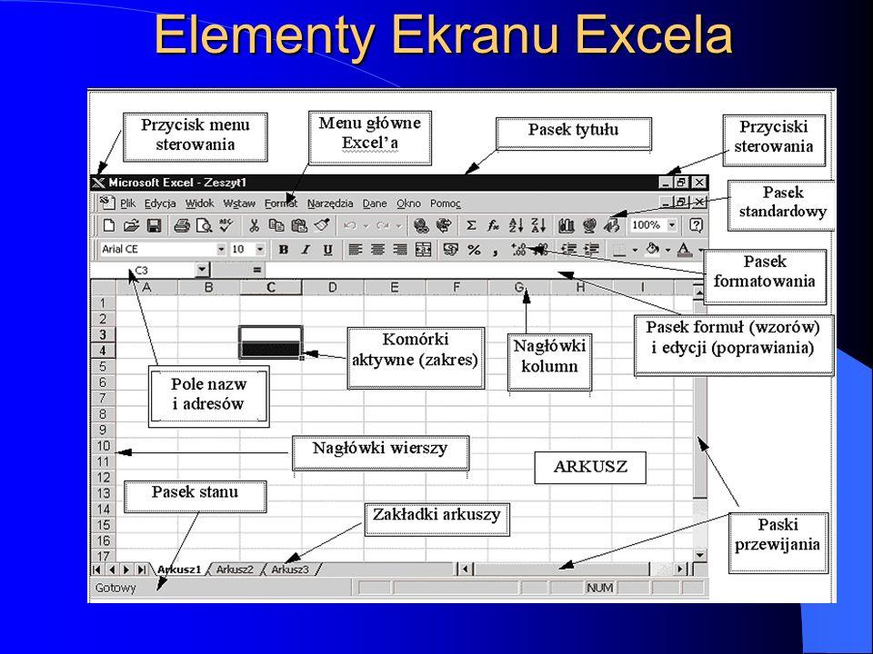 Pojęcie arkusza kalkulacyjny to program służący do przechowywania, manipulowania, kalkulowania i analizowania danych takich jak: liczby, teksty i form