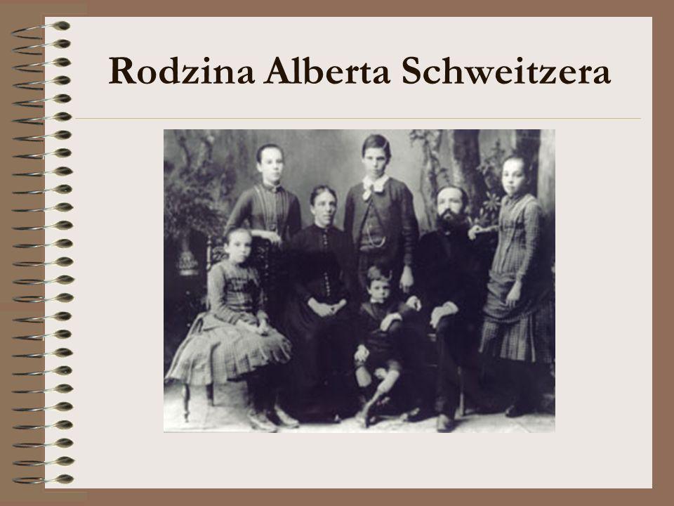 Rodzina Alberta Schweitzera