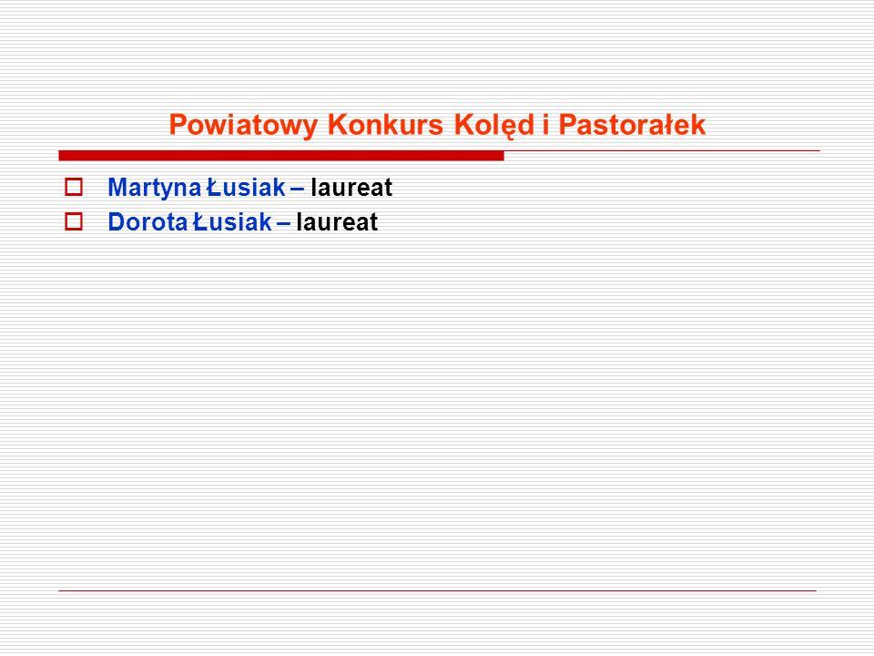 Udział uczniów w zawodach sportowych Powiatowe Igrzyska Młodzieży Szkolnej w badmintona – I miejsce: Kamil Zawada, Mateusz Chemicz Rejonowe Igrzyska M