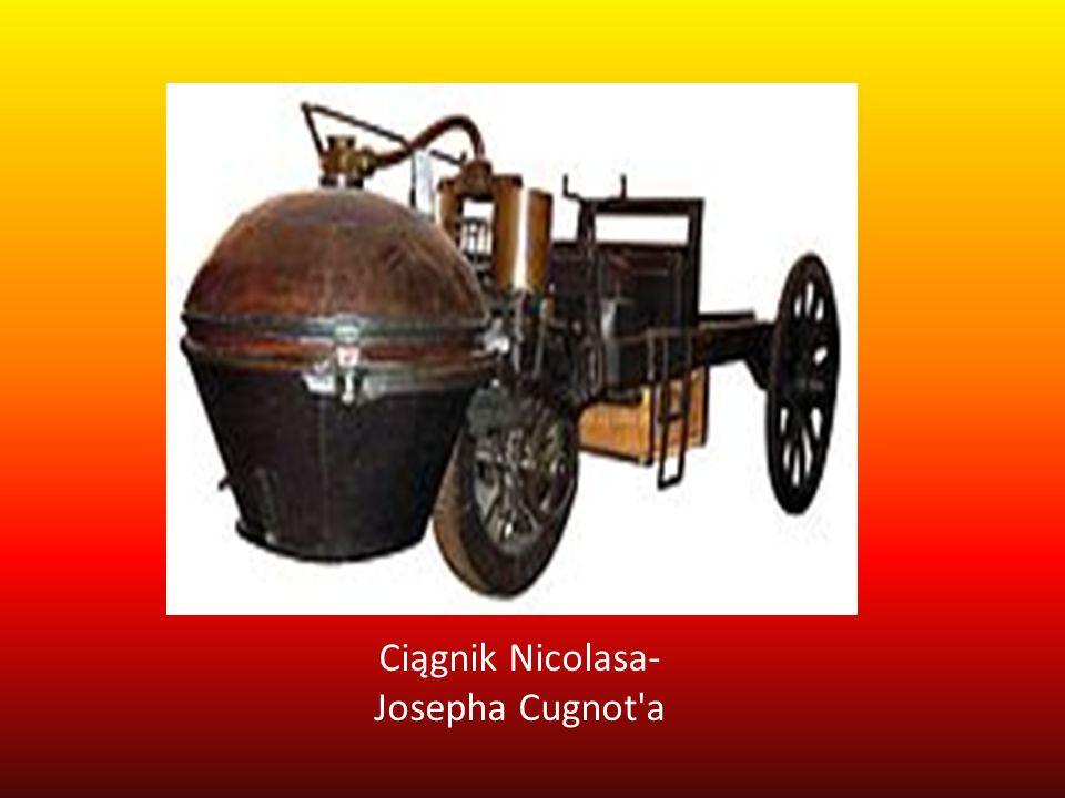 Ciągnik Nicolasa- Josepha Cugnot'a