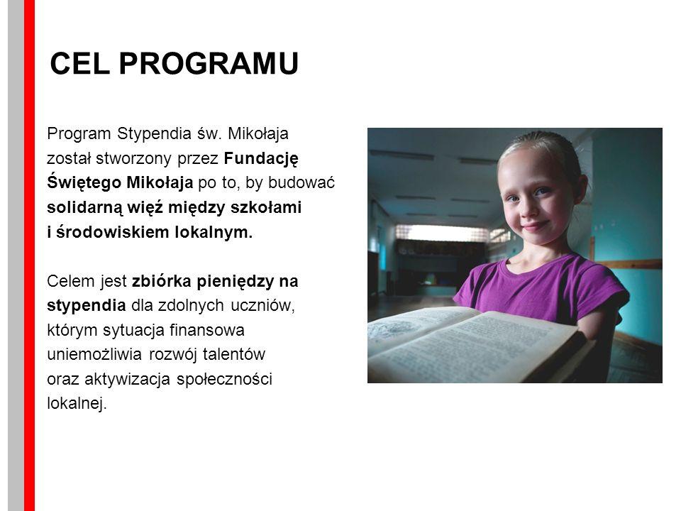 CEL PROGRAMU Program Stypendia św.