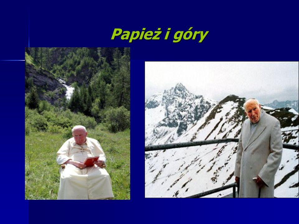 Papież i góry