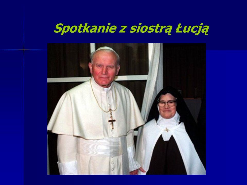 Spotkanie z siostrą Łucją