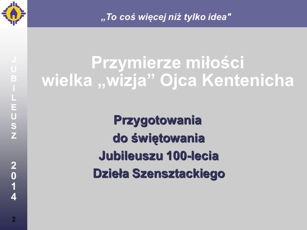 JUBILEUSZ2014JUBILEUSZ2014 23 Oblicze Szensztatu w Polsce Poszukując oblicza Szensztatu w Polsce, zwróciliśmy uwagę na cechy polskiej duchowości, które mogą stanowić ubogacenie Szensztatu w świecie: solidarność,maryjność i dziedzictwo Jana Pawła II.