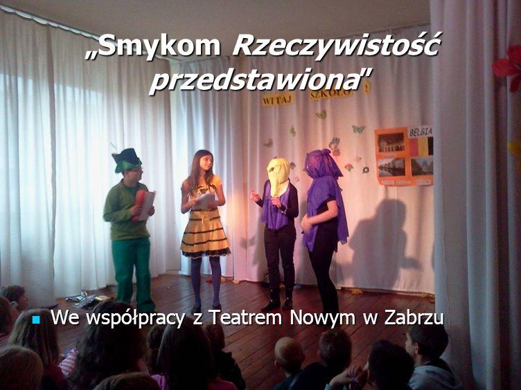 Smykom Rzeczywistość przedstawiona We współpracy z Teatrem Nowym w Zabrzu We współpracy z Teatrem Nowym w Zabrzu