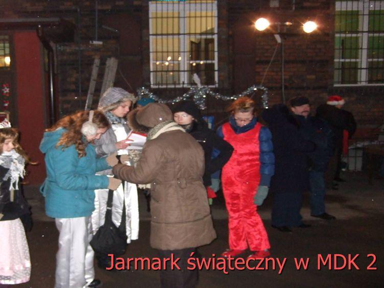 Jarmark świąteczny w MDK 2