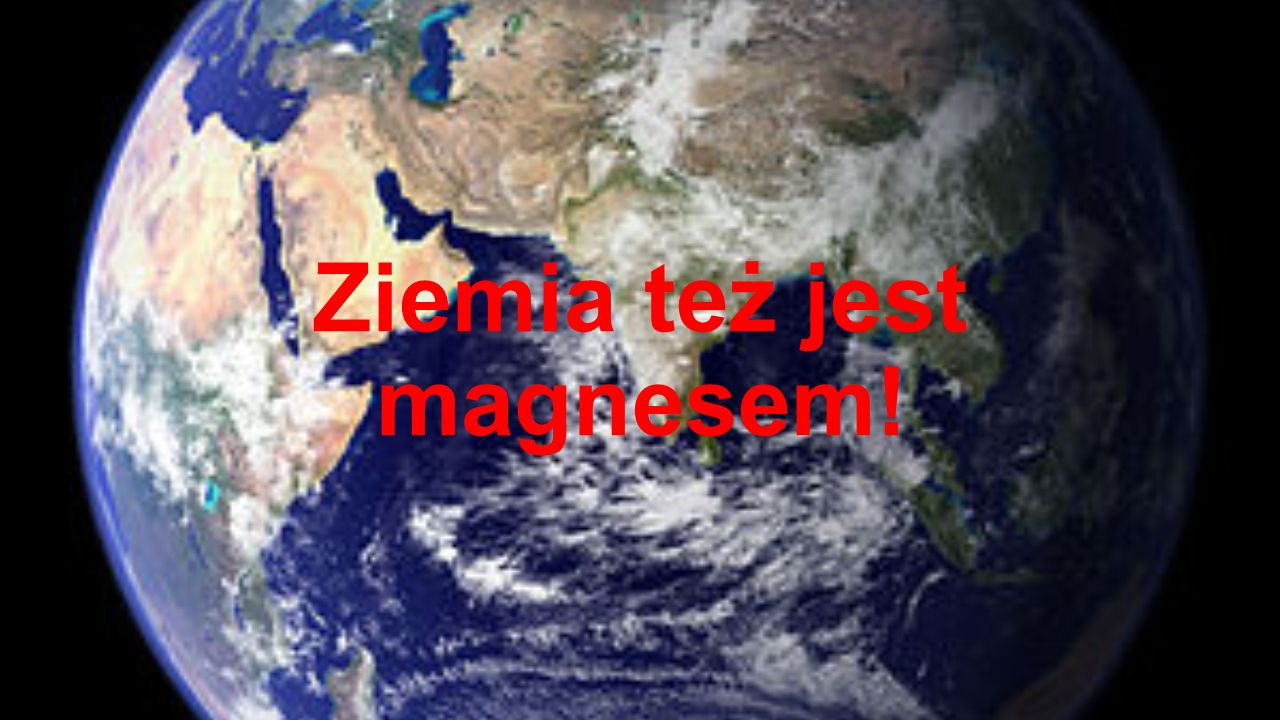 Ziemia też jest magnesem!