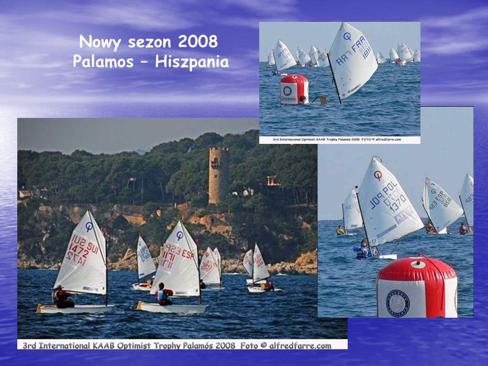 Nowy sezon 2008 Palamos – Hiszpania