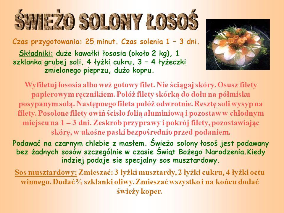 Świąteczny Glögg Składniki: 1 butelka czerwonego wina, 2-3 łyżki stołowe wina madera (opcjonalnie), 1/2 szklanki nie rafinowanego cukru, 1/3 szklanki rodzynek, 1-2 laseczki cynamonu, 5-6 całych goździków, skórki pomarańczy, 1/4 szklanki parzonych, siekanych migdałów, 1/4 szklanki wódki dla wyostrzenia smaku (opcjonalnie) Wszystkie składniki (oprócz wódki) umieszczamy w dużym czajniku.