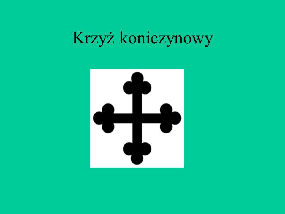 Krzyż jerozolimski nazywany jest także krzyżem laskowanym. To krzyż z czterema krzyżykami umieszczonymi między ramionami dużego krzyża. Krzyż jerozoli