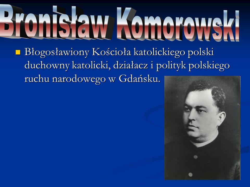 Polski duchowny katolicki, błogosławiony Kościoła katolickiego, duszpasterz środowisk akademickich w Warszawie.