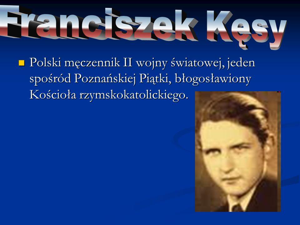 Polski duchowny katolicki, rektor Wyższego Seminarium Duchownego we Włocławku, błogosławiony Kościoła katolickiego.