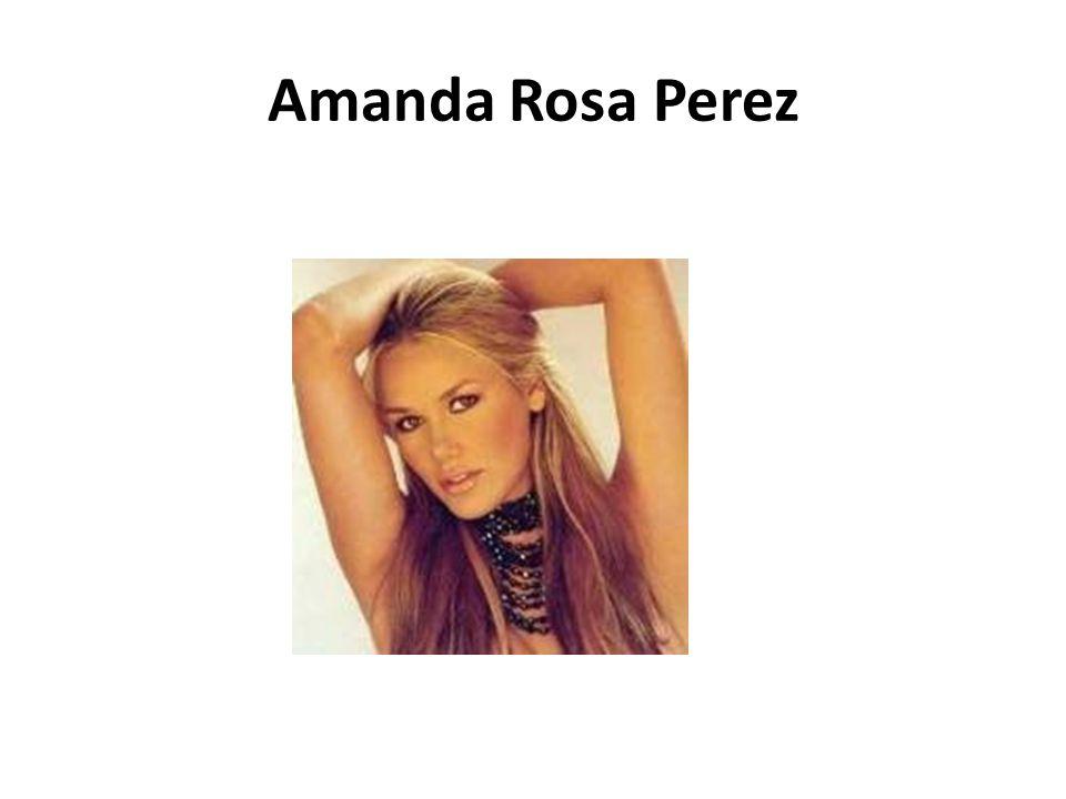 Amanda Rosa Perez