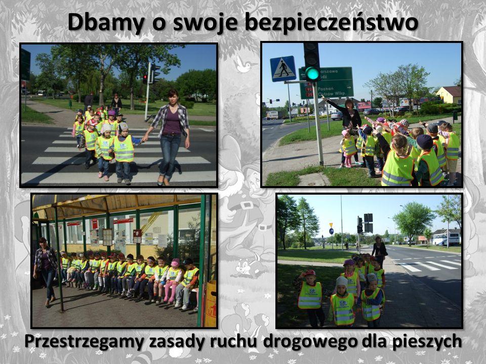 Dbamy o swoje bezpieczeństwo Przestrzegamy zasady ruchu drogowego dla pieszych