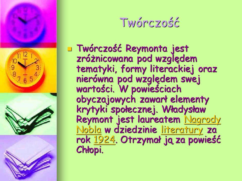 Pomnik W.ReymontaPomnik W. Reymonta na ul. Piotrkowskiej w Łodzi ul.
