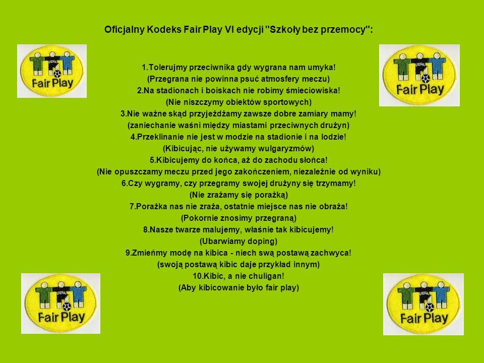Oficjalny Kodeks Fair Play VI edycji