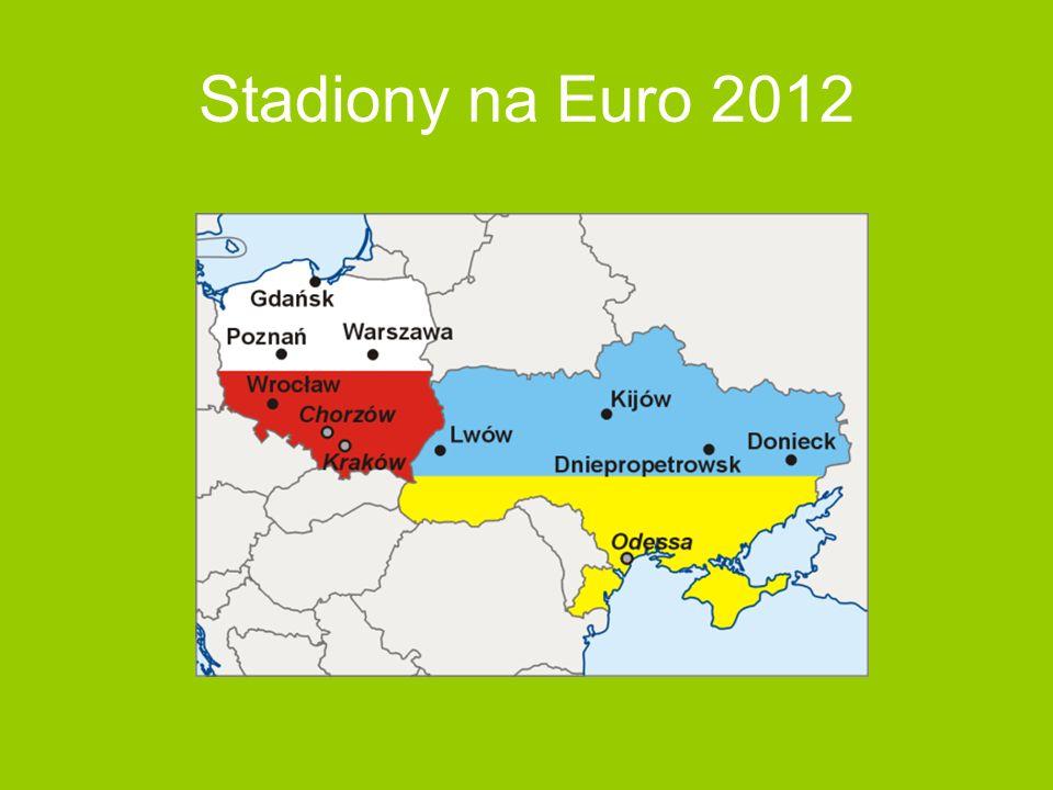 Stadiony na Euro 2012