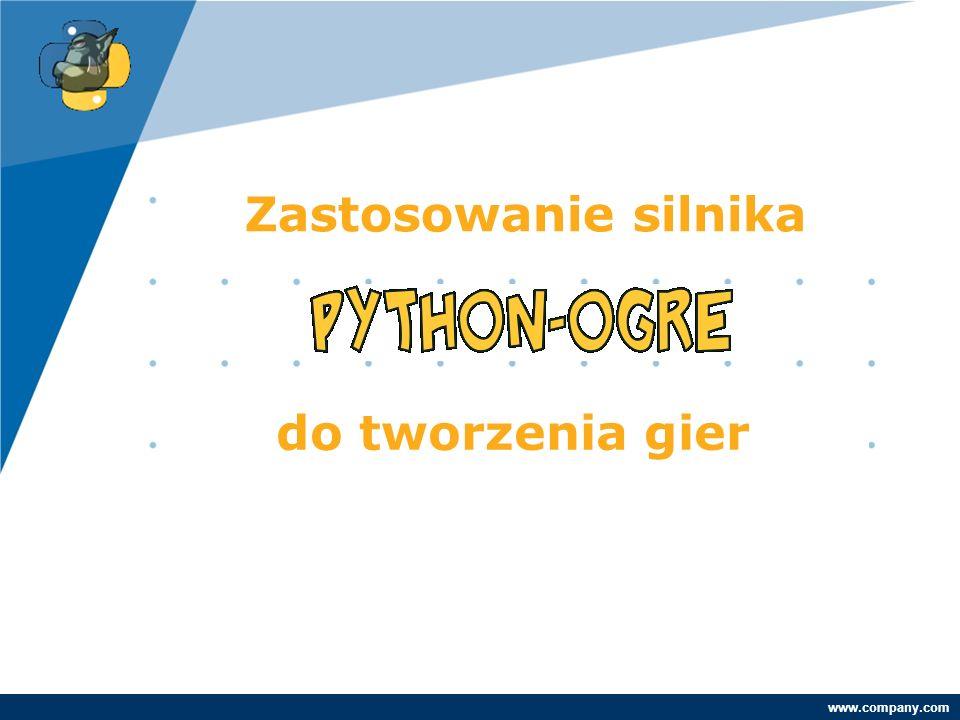 Company LOGO www.company.com Parę słów o mnie Marek Gajda - marek.gajda@xsolve.pl Aplikacje internetowe – PHP, Java,.Net Moje hobby: Python Programowanie gier