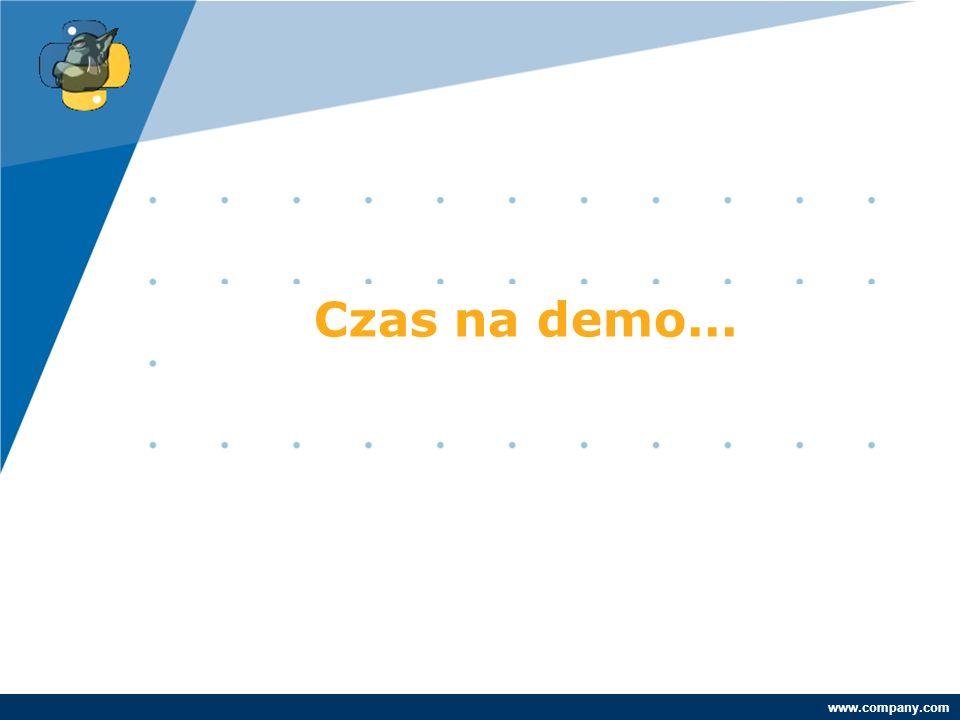Company LOGO www.company.com Czas na demo...