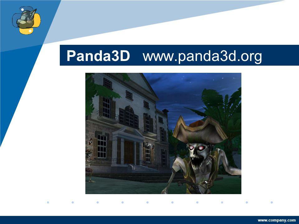 Company LOGO www.company.com Panda3D www.panda3d.org