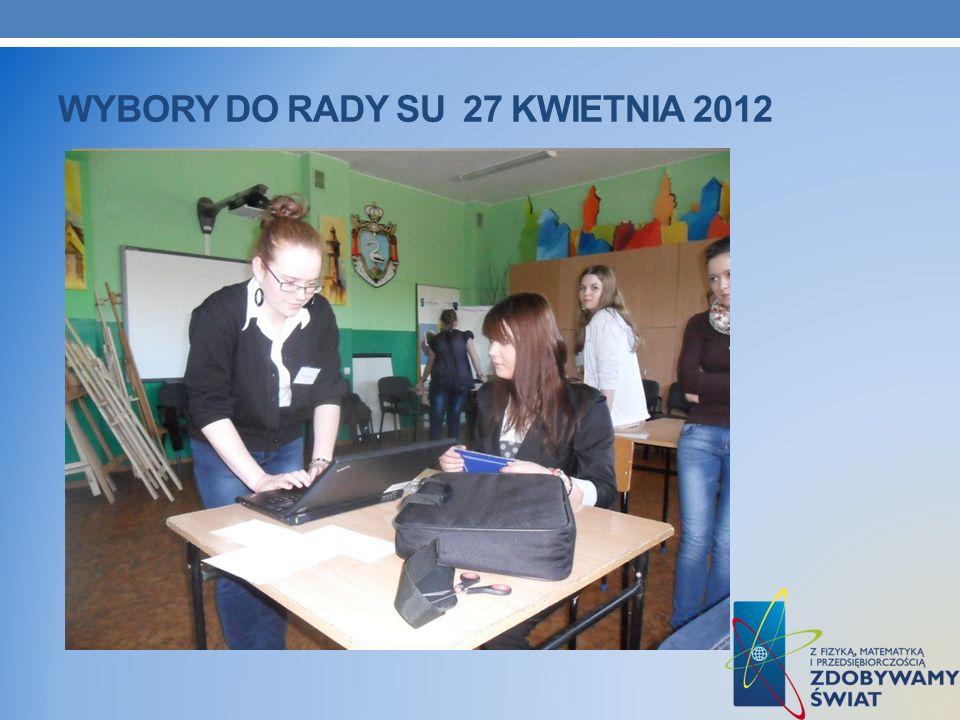 WYBORY DO RADY SU 27 KWIETNIA 2012