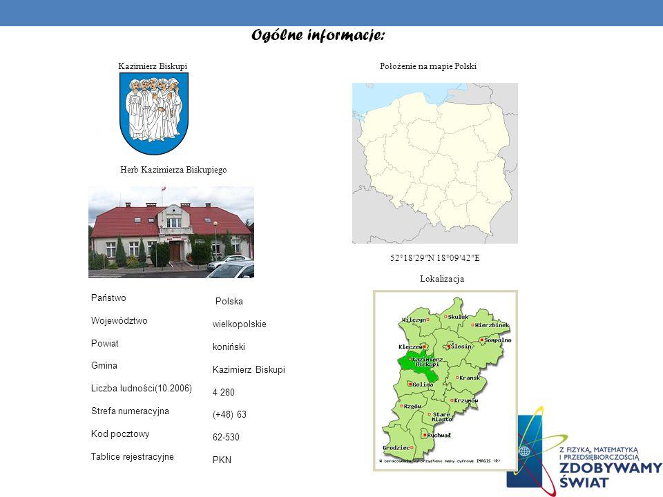 HISTORIA: Wieś Kazimierz Biskupi założona została prawdopodobnie przez Kazimierza Odnowiciela w połowie XI wieku.