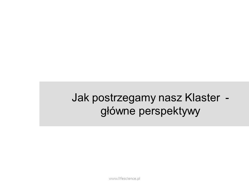 www.lifescience.pl Jak postrzegamy nasz Klaster - główne perspektywy