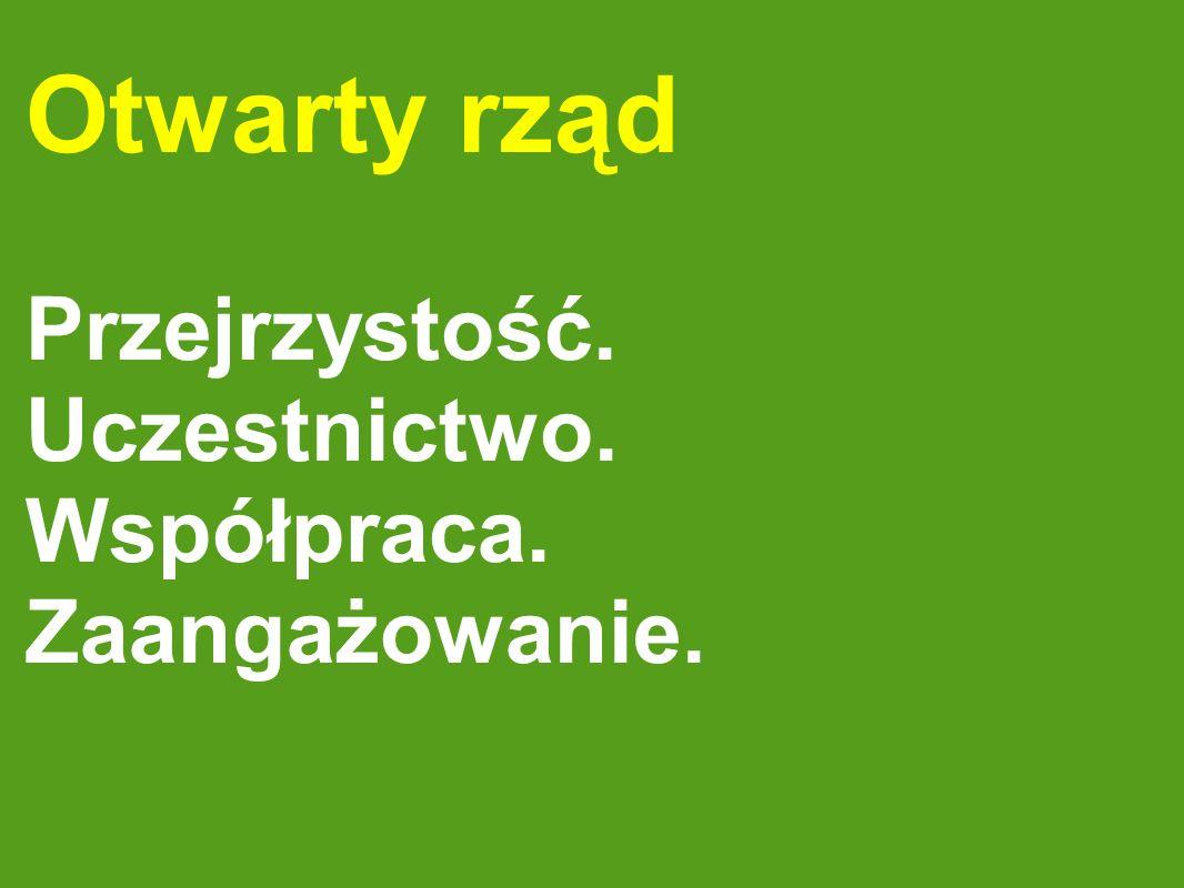 Otwarty rząd w Polsce.
