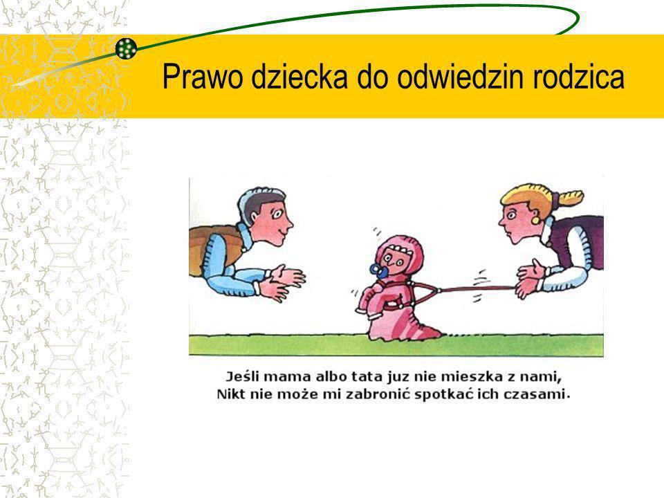 Prawo dziecka do odwiedzin rodzica
