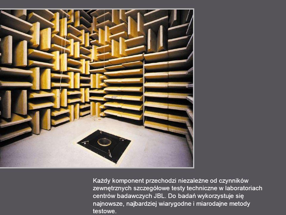 Pomiary robi się w ponad 72 indywidualnych pozycjach słuchacza, zmienianych zarówno w płaszczyźnie pionowej, jak i poziome, aby zapewnić optymalne rozpraszanie dźwięku w dosłownie każdym pomieszczeniu.