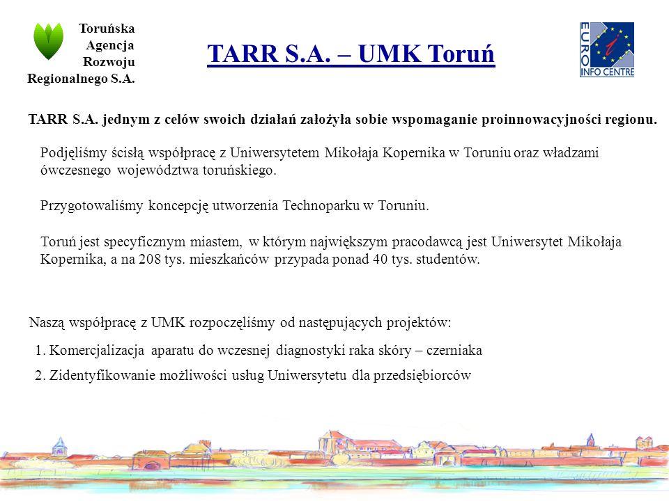 Podjęliśmy ścisłą współpracę z Uniwersytetem Mikołaja Kopernika w Toruniu oraz władzami ówczesnego województwa toruńskiego.