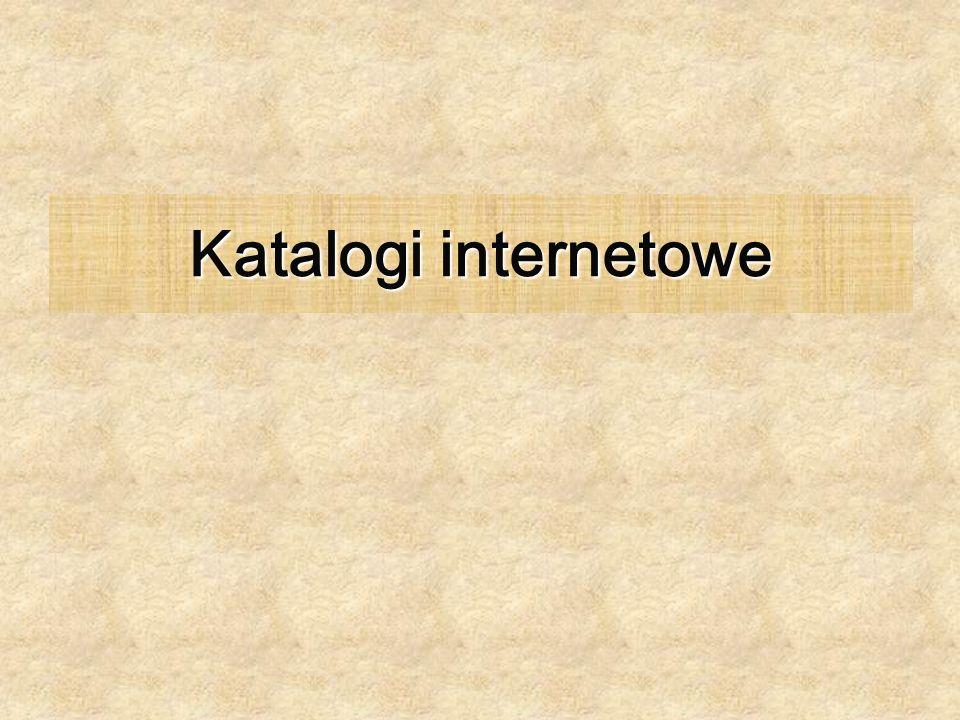 Katalogi internetowe