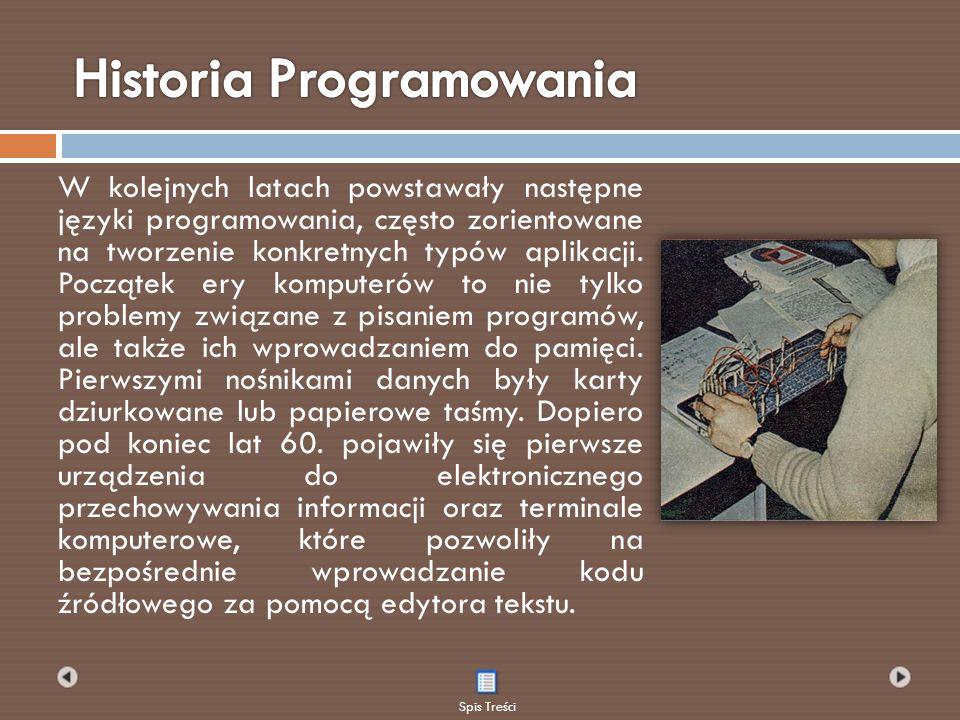 Lisp jest drugim po Fortranie najstarszym językiem, który jest wykorzystywany do dziś.
