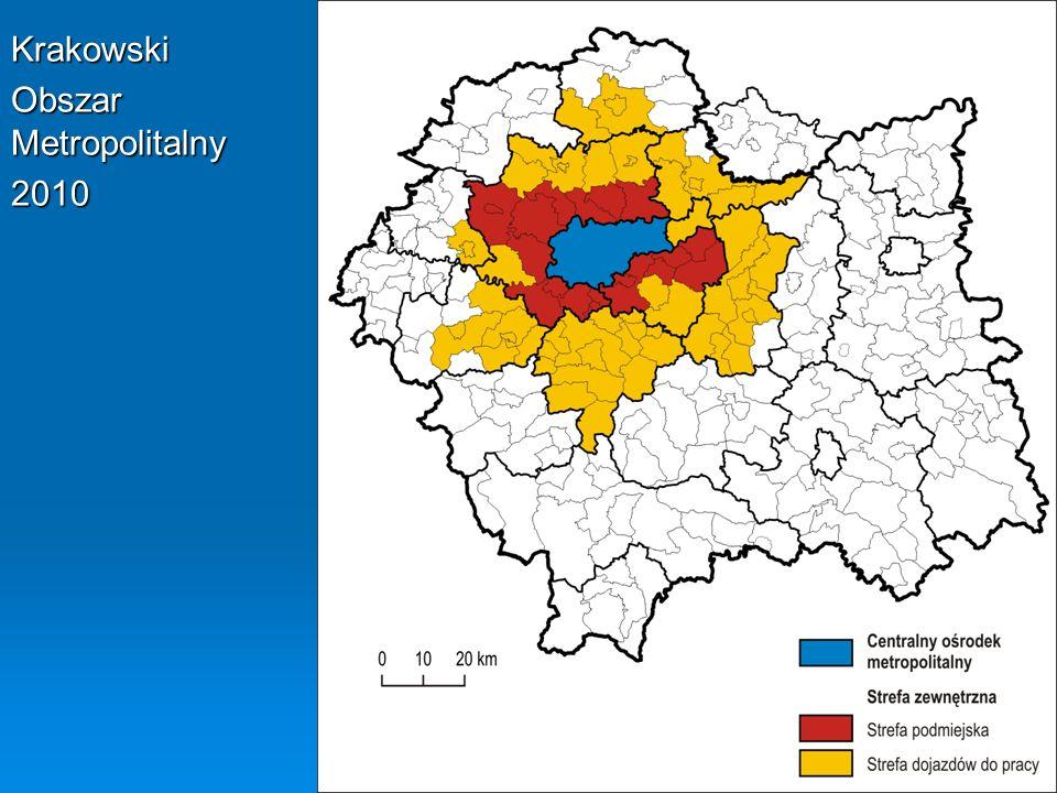 Krakowski Obszar Metropolitalny 2010