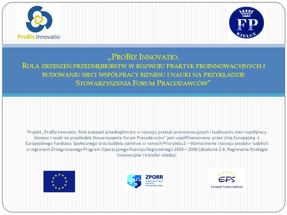 Projekt ProBiz Innovatio.