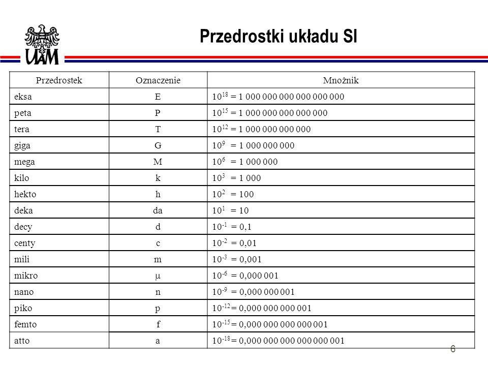 66 LICZBY ZESPOLONE lPrzykłady liczb zespolonych: