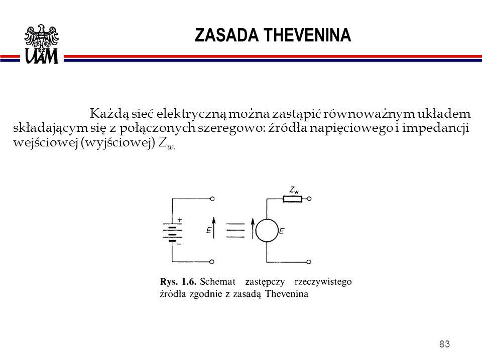 82 OBWODY ELEKTRYCZNE źródło prądowe - przez źródło płynie prąd o natężeniu I bez względu na obciążenie.