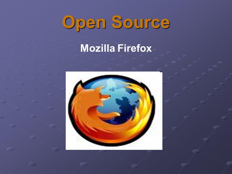 Mozilla Firefox to przeglądarka internetowa - program komputerowy, służący do pobierania i wyświetlania zawartości dokumentów z serwerów internetowych, a także odtwarzania plików multimedialnych.