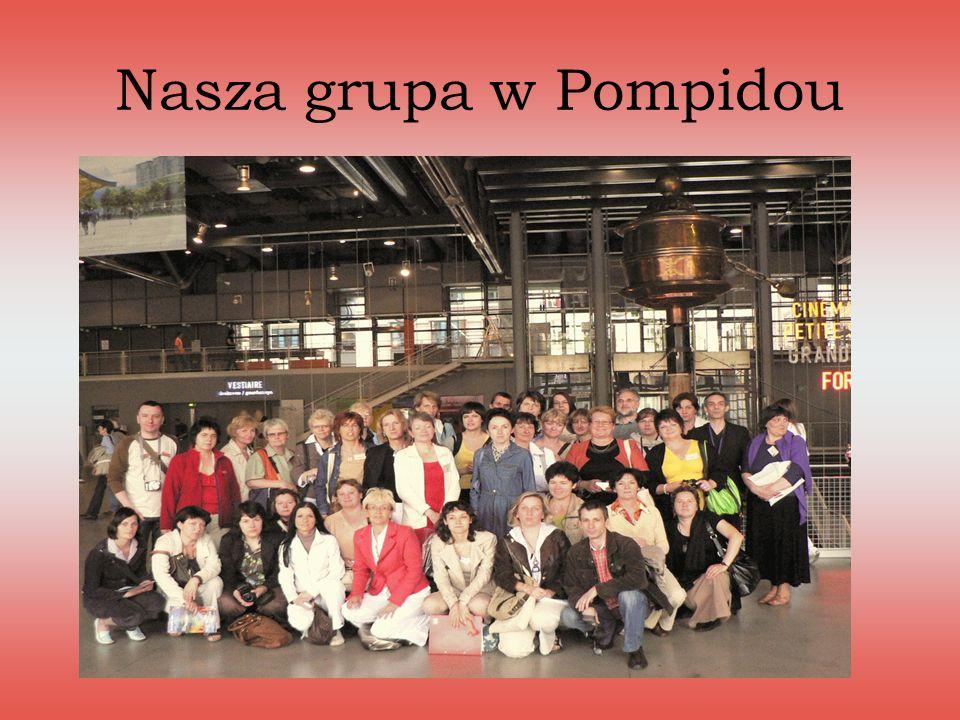 Nasza grupa w Pompidou