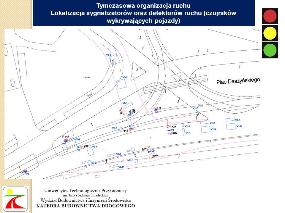 Przejazd przez torowisko tramwajowe z jezdni północnej Szosy Lubickiej na południową w rejonie ul.