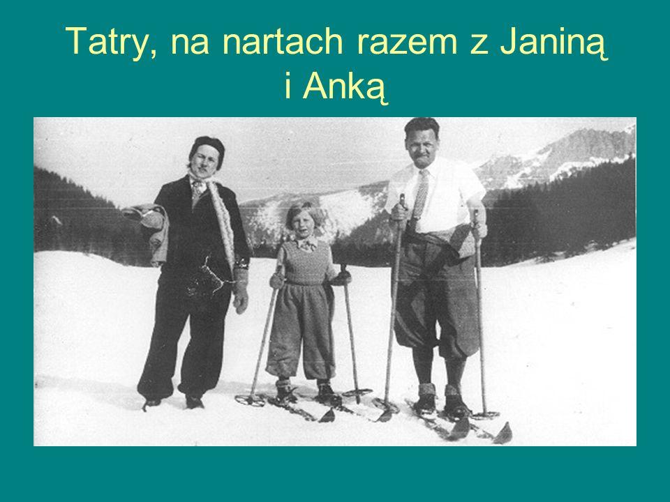 Tatry, na nartach razem z Janiną i Anką