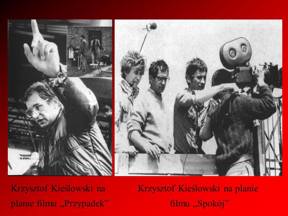 Krzysztof Kieślowski na planie filmu Przypadek Krzysztof Kieślowski na planie filmu Spokój