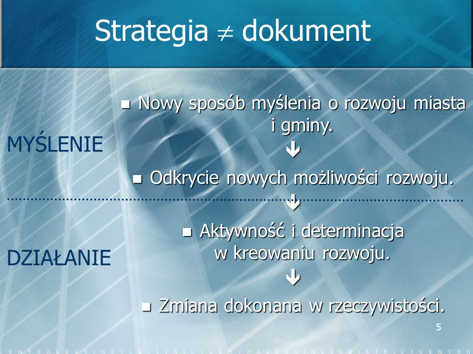 6 STRUKTURA STRATEGII