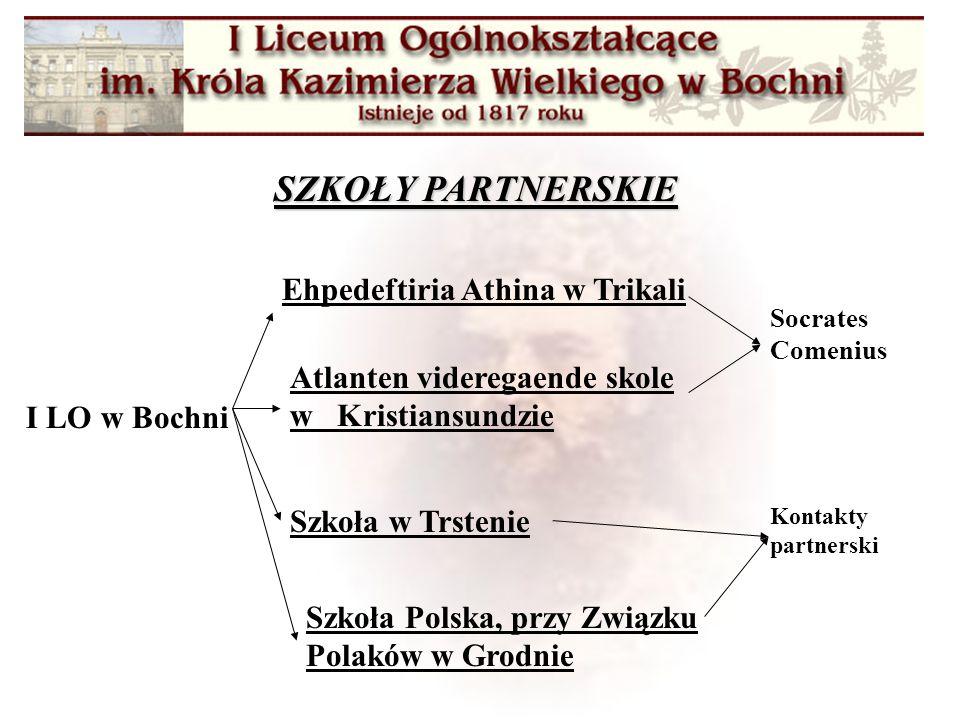 Organizacja konkursów wiedzy o państwach partnerskich