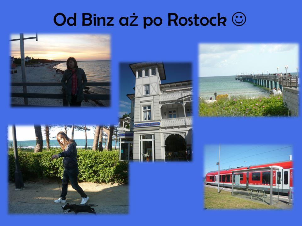 Od Binz a ż po Rostock