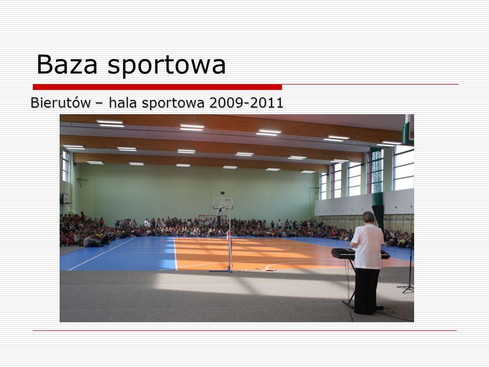 Baza sportowa Bierutów – hala sportowa 2009-2011